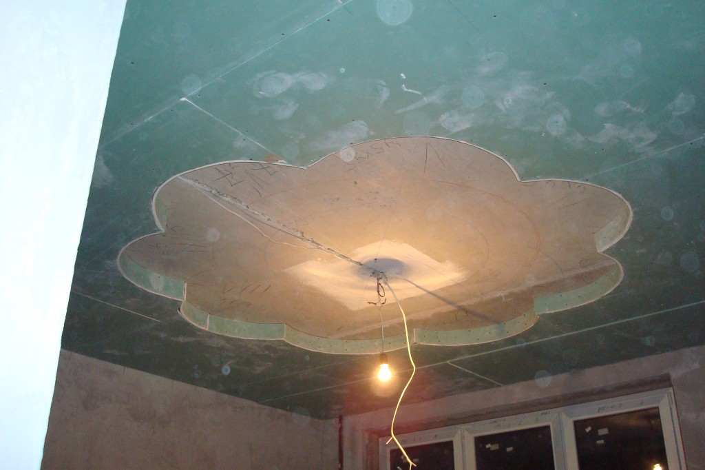 Как сделать сложный потолок 997